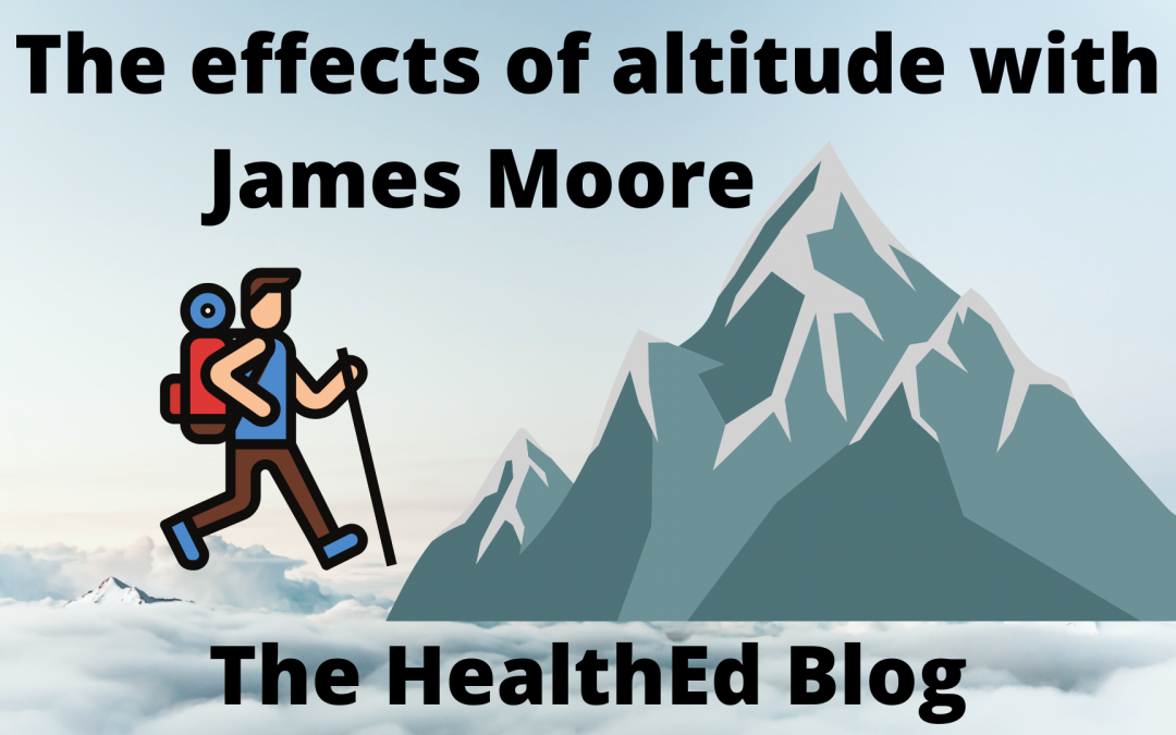 Everest base camp, Diamox, and altitude sickness with special guest James Moore (video version)