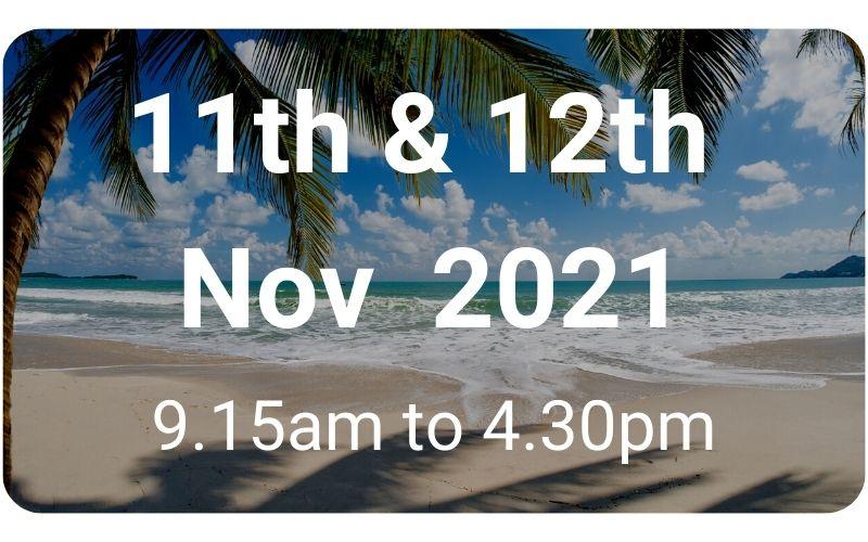 Intro to TH 11th & 12th Nov