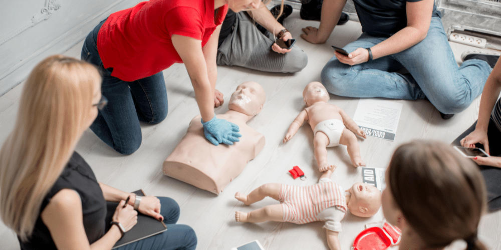 Certification – Emergency First Aid at Work